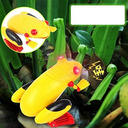 Bhbuy Remote Control Realistic Fake Frog Rc Prank Toys Insects Joke Scary Trick/Frog