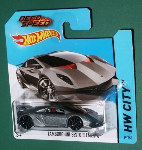 2014 Hot Wheels Sesto Elemento: Short Card, Vhtf, Need For Speed Logo!