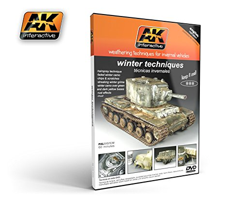 Winter Weathering Techniques For Invernal Vehicles Dvd Ak Interactive