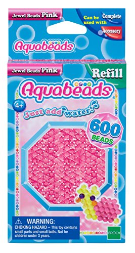 Aquabeads Jewel Bead Refill Pack, Pink