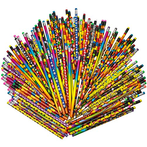 Pencil Assortment  7.5 Inches Assorted Colorful Pencils For Kids   Exciting School Supplies, Awards &Amp; Incentives