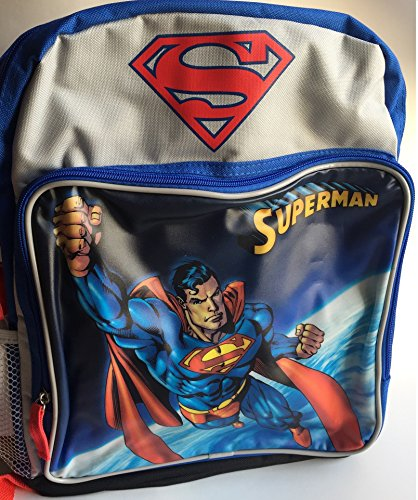 Party Express Superman Super Hero 15  School Backpack