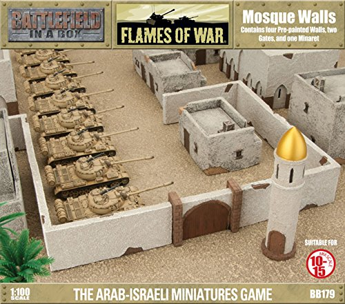 Flames Of War Battlefield In A Box: Mosque Walls