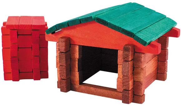 Roy Toy Farm Building Set, Made In The Usa