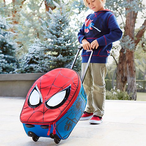 Disney Spider-Man Rolling Luggage