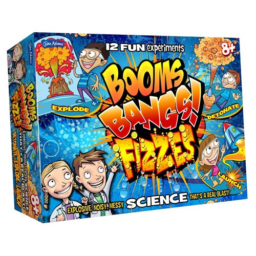 John Adams Booms Bangs Fizzes Science Kit From