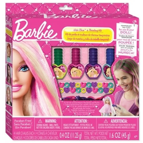 Fashion Angels Barbie Hair Chox And Beading Kit
