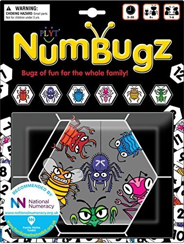 Numbugz Games - 6 Families Of Numbugz As Featured In The Eternal Cycle (Lollopers Book 1), 13 Unique Games To Play And More To Come, Recommended By National Numeracy (Age 4+)