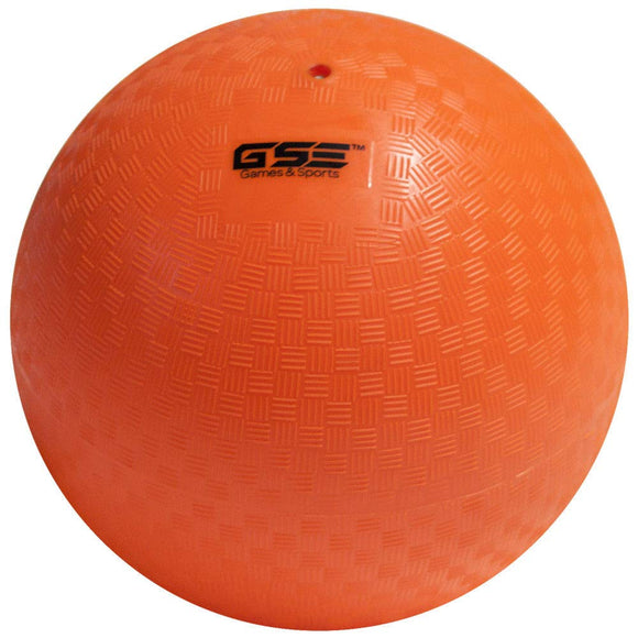 Gse Games & Sports Expert 8.5-Inch Classic Inflatable Playground Balls (7 Colors Available) (Orange)