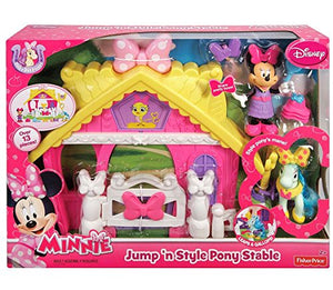 Disney Minnie Jump 'N Style Pony Stable Play Set