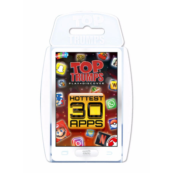 Top Trumps 002073 Hottest 30 Apps Card Game