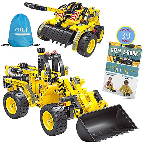 Gili Building Sets For Kids Age 6-12, Construction Engineering Tank Toys For 7, 8, 9, 10 Year Old Boys &Amp; Girls, Educational Stem Gifts For Kids