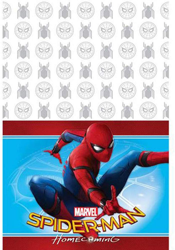 Spider-Man 'Homecoming' Plastic Table Cover (1Ct)