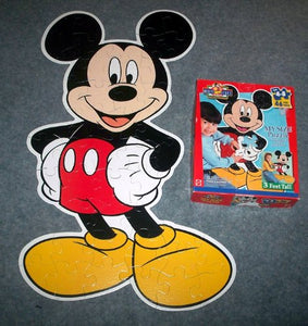 Disney Mickey Mouse My Size Puzzle