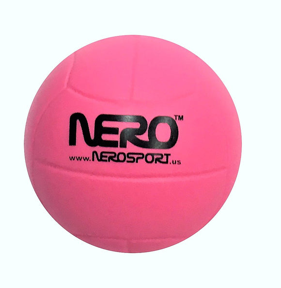 Nero Ns-Rs High Bounce Rubber Toy Volleyball 2.5 Inch Great For The Streets Park Back Yard Agility Ball Bulk Price (Pink)