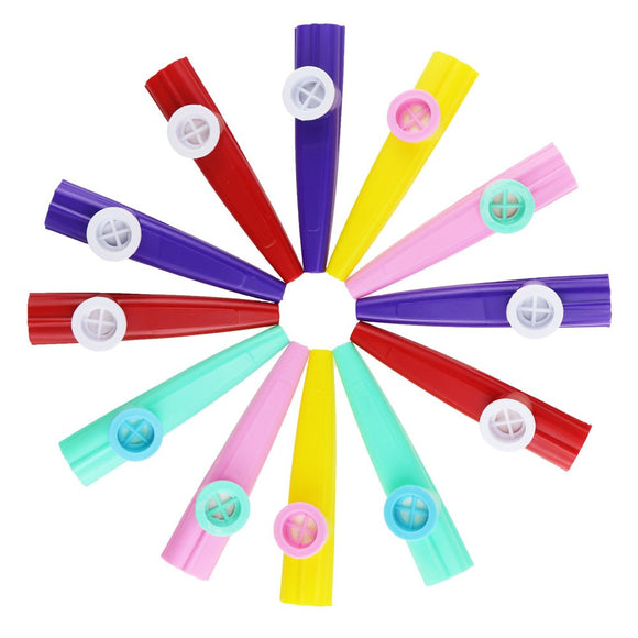 Etmact Assorted Colors Plastic Kazoo , Interesting Party Toy,