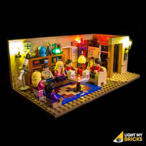 Light My Bricks Lighting Kit For Big Bang Theory 21302 (Building Set Not Included)