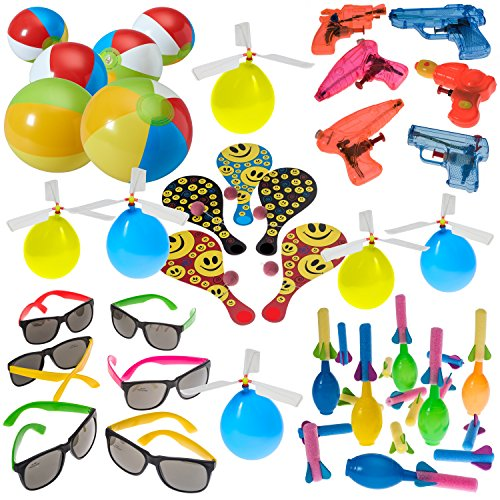 Prextex Beach Toys Assortment Great Summer Fun Toy Assortment