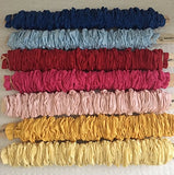 Kids Cords Lamp Cord Cover - Bright Yellow - 100% Cotton - 9' Long - Covers Most Wires