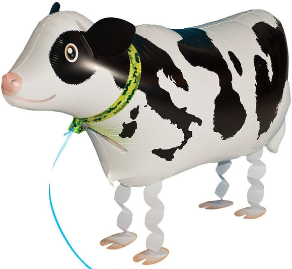 Riy Pet Walking Animal Foil Balloons For Party Decorations Kids Party Favors Cow (About 16