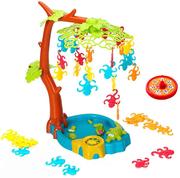Funny Plastic Monkey Hanging Board Balance Board Game Desktop Puzzle Intelligence Toy Playset