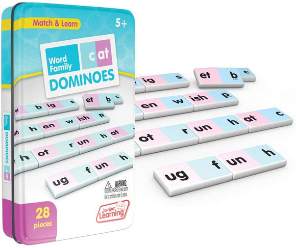 Junior Learning Word Family Dominoes Educational Action Games