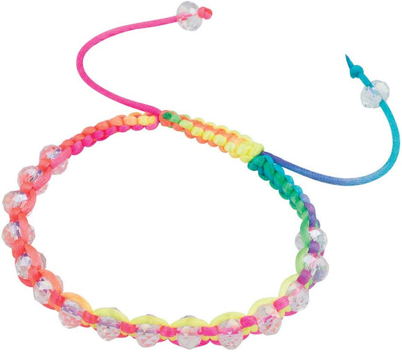 Smilemakers Crystal Bead Friendship Bracelets - Prizes 24 Per Pack