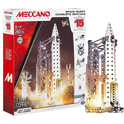 Meccano Space Quest 15 Model Set, Teaching Toys, 2017 Christmas Toys