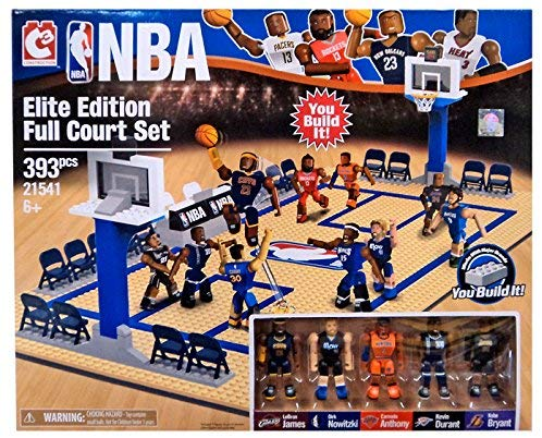 C & C Nba C3 Construction Elite Edition Full Court Building Set #21541