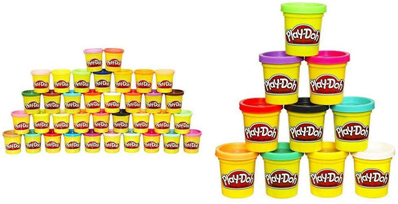 Play Doh 36-Can Mega Pack - Amazon Exclusive With Play-Doh Colors (Amazon Exclusive) Bundle