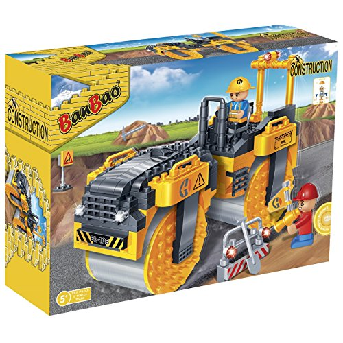 Banbao Steam Roller Building Kit