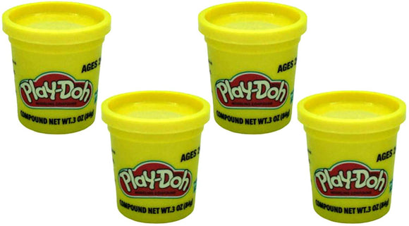 Play-Doh Yellow  3 Ounce Cans