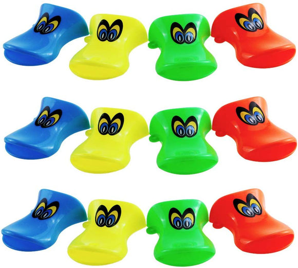 Etmact Plastic Colored Duckbill Whistle, Cheer The Props,