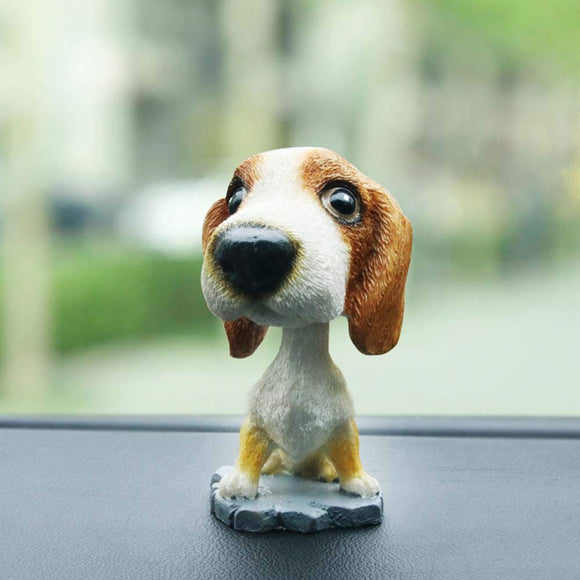 Car Dancing Toys Swinging Puppy Dog Bobble Dancer Toy Car Decor Gessppo