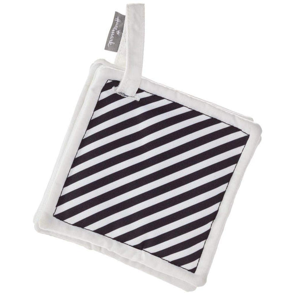 Hmk Hallmark Black And White Squares Crinkle Stroller Accessory