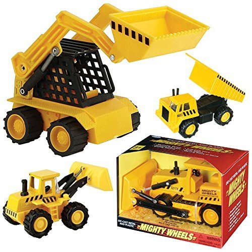 Assorted Construction Vehicles, Skid Loader, Bull Dozer, Dump Truck 1 Each 2580