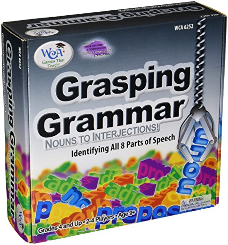 Learning Advantage, Grasping Grammar Board Game, Parts Of Speech - Nouns To Interjections, Grade 4 And Up