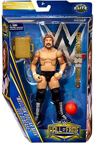 Wwe Wrestling Elite Collection Hall Of Fame Ted  Million Dollar Man  Dibiase  6  Action Figure