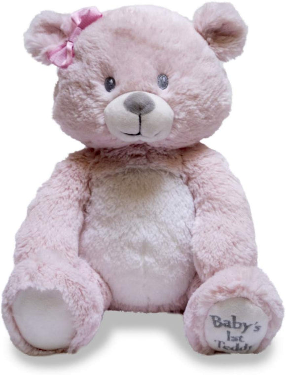 Cuddle Barn Baby'S First Teddy Lullaby Animated Singing Teddy Bear, 10
