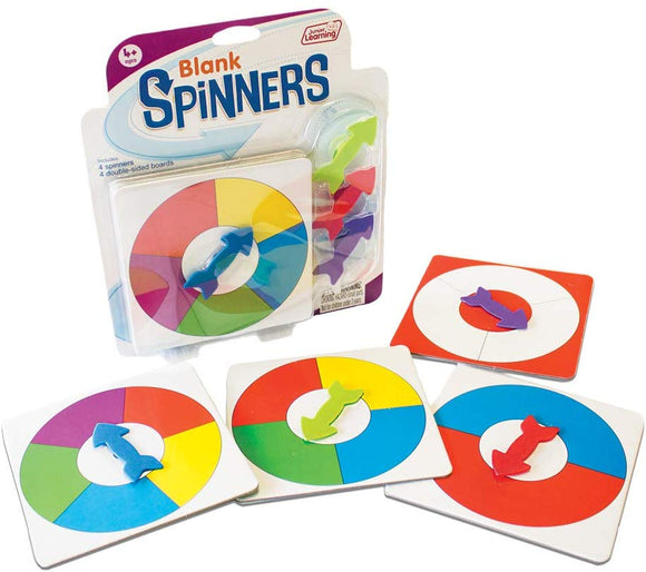 Junior Learning Blank Spinners Educational Action Games