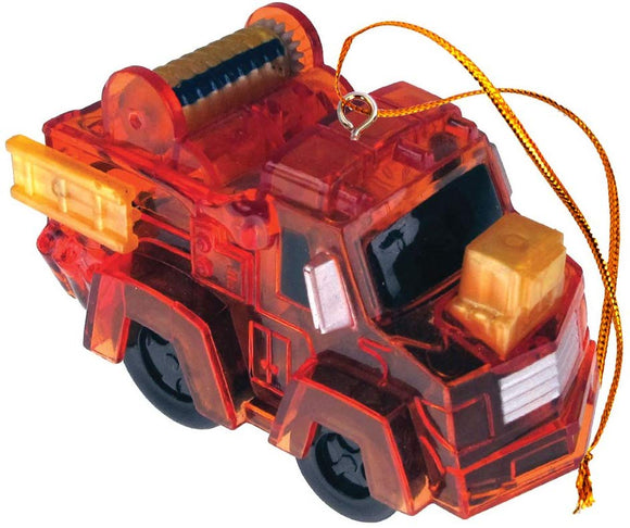 California Creations Z Windups Toy Wheelies Firetruck Ornament, Freddie
