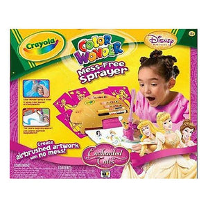 Disney Princess Enchanted Tales Color Wonder Mess-Free Sprayer
