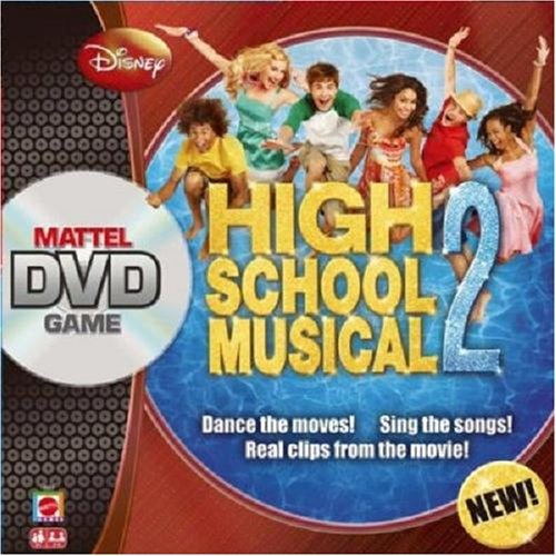 Mattel High School Musical Dvd Board Game 2