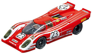 Carrera Usa 20027569 Porsche 917K Salzburg No.23 1970 Evolution Analog Slot Car Racing Vehicle 1:32 Scale, Red