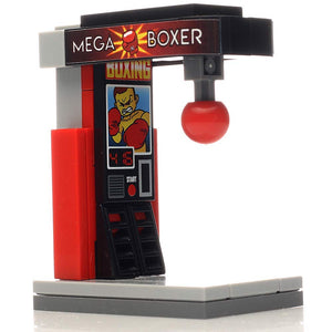 B3 Bricks Minifigure Boxing Arcade Game Building Kit