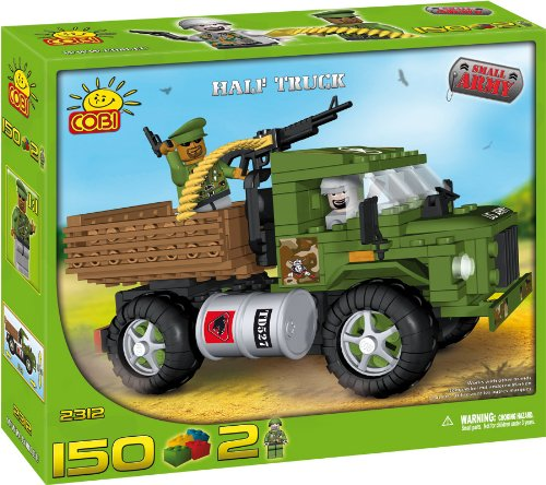 Cobi Blocks Small Army #2312 Half Truck