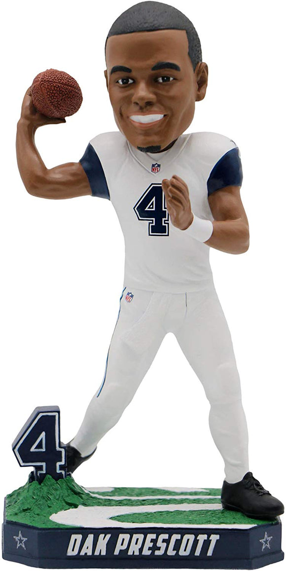 Forever Collectibles Dak Prescott Dallas Cowboys Special Edition Color Rush Bobblehead Nfl