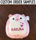 "Customized Kellytoy Squishmallow Astrid The Purple Unicorn 13"" Super Soft Plush Toy Pillow Pet Animal Pillow"