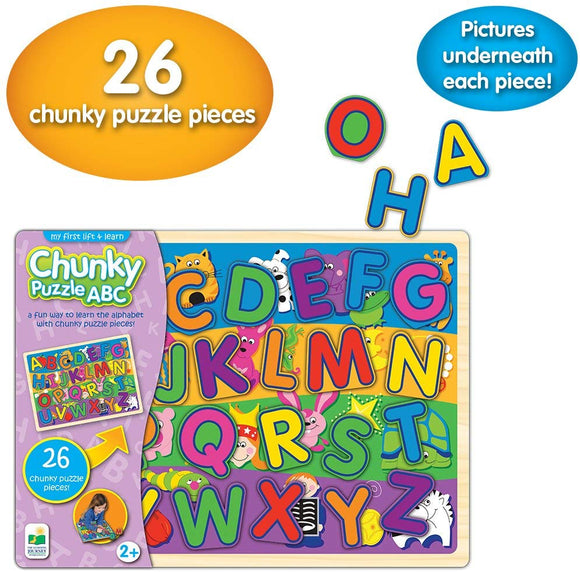 The Learning Journey My First Chunky Lift & Learn Puzzles Game