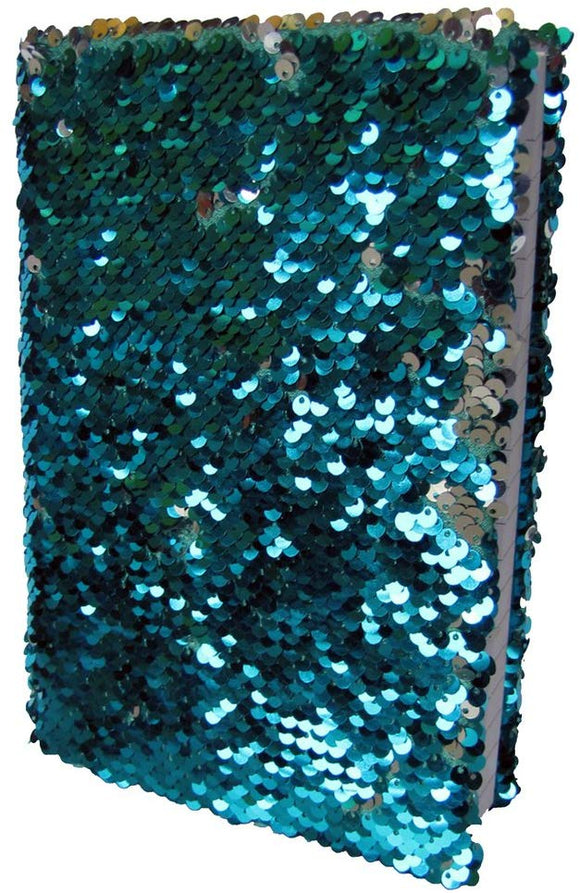 Pyramid America Mermaid Sequin Deluxe Journal Notebook 6X8 Inch